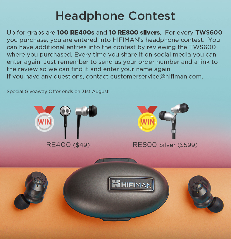 TWS600-headphone contest